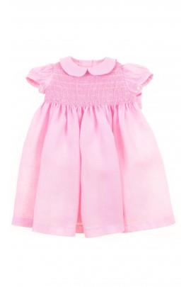 Różowa sukieneczka niemowlęca, Ferrari Mariella