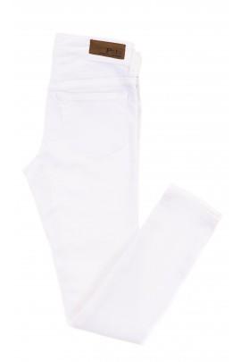 Białe spodnie dziewczęce rurki, Polo Ralph Lauren