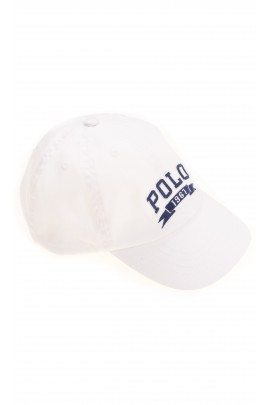 Biała czapka z daszkiem, Polo Ralph Lauren