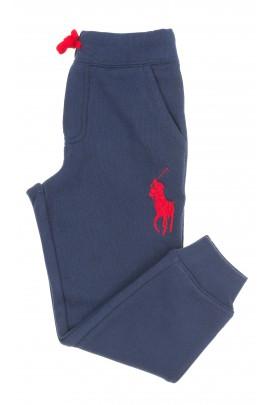 Granatowe spodnie dresowe dla chłopca, Polo Ralph Lauren