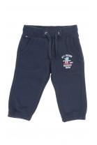 Granatowe spodnie dresowe niemowlęce dla chłopca, Tommy Hilfiger