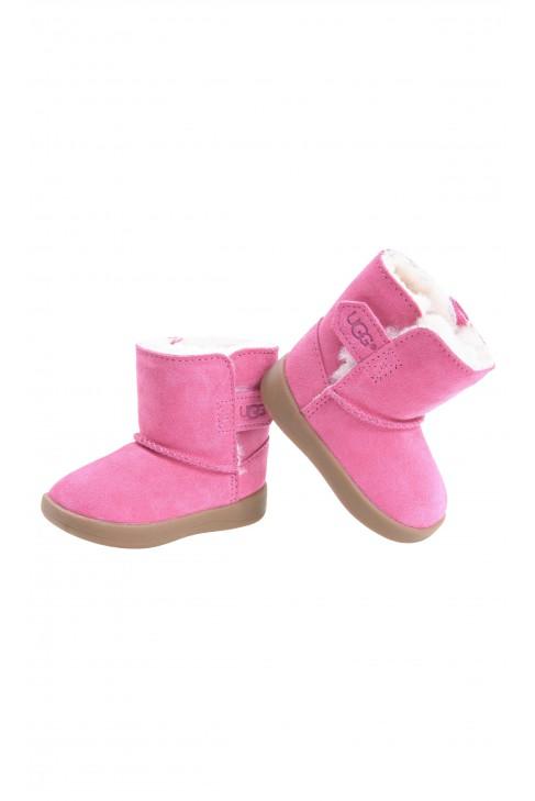 Różowe buty niemowlęce, UGG