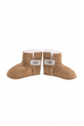 Brązowe buty niemowlęce, UGG
