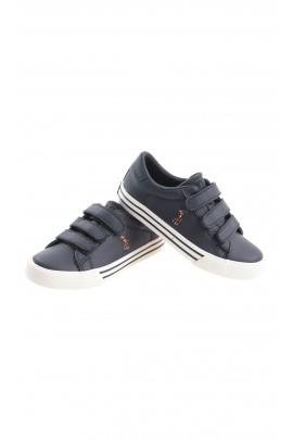 Sportowe granatowe buty na rzepy, Polo Ralph Lauren