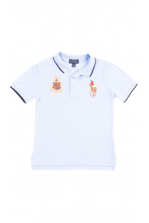 Niebieska koszulka polo chłopięca, Polo Ralph Lauren