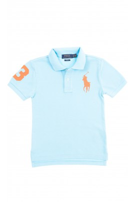 Turkusowa koszulka polo chłopięca, Polo Ralph Lauren