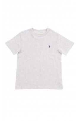 Szary t-shirt chłopięcy, Polo Ralph Lauren