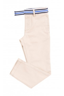 Beżowe spodnie chłopięce, Polo Ralph Lauren