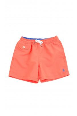 Pomarańczowe szorty kąpielowe chłopięce, Polo Ralph Lauren