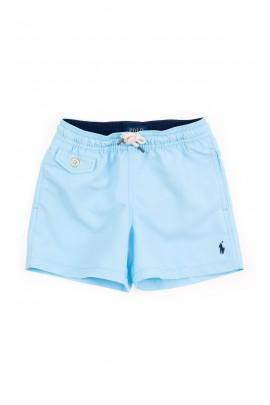 Niebieskie szorty kąpielowe chłopięce, Polo Ralph Lauren