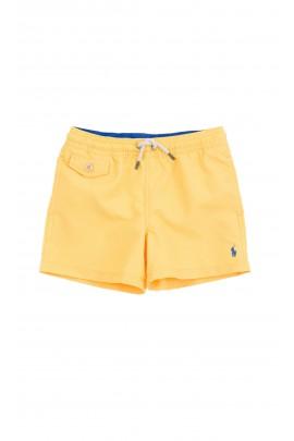 Żółte szorty kąpielowe chłopięce, Polo Ralph Lauren