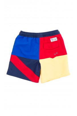 Kolorowe szorty kąpielowe chłopięce, Polo Ralph Lauren
