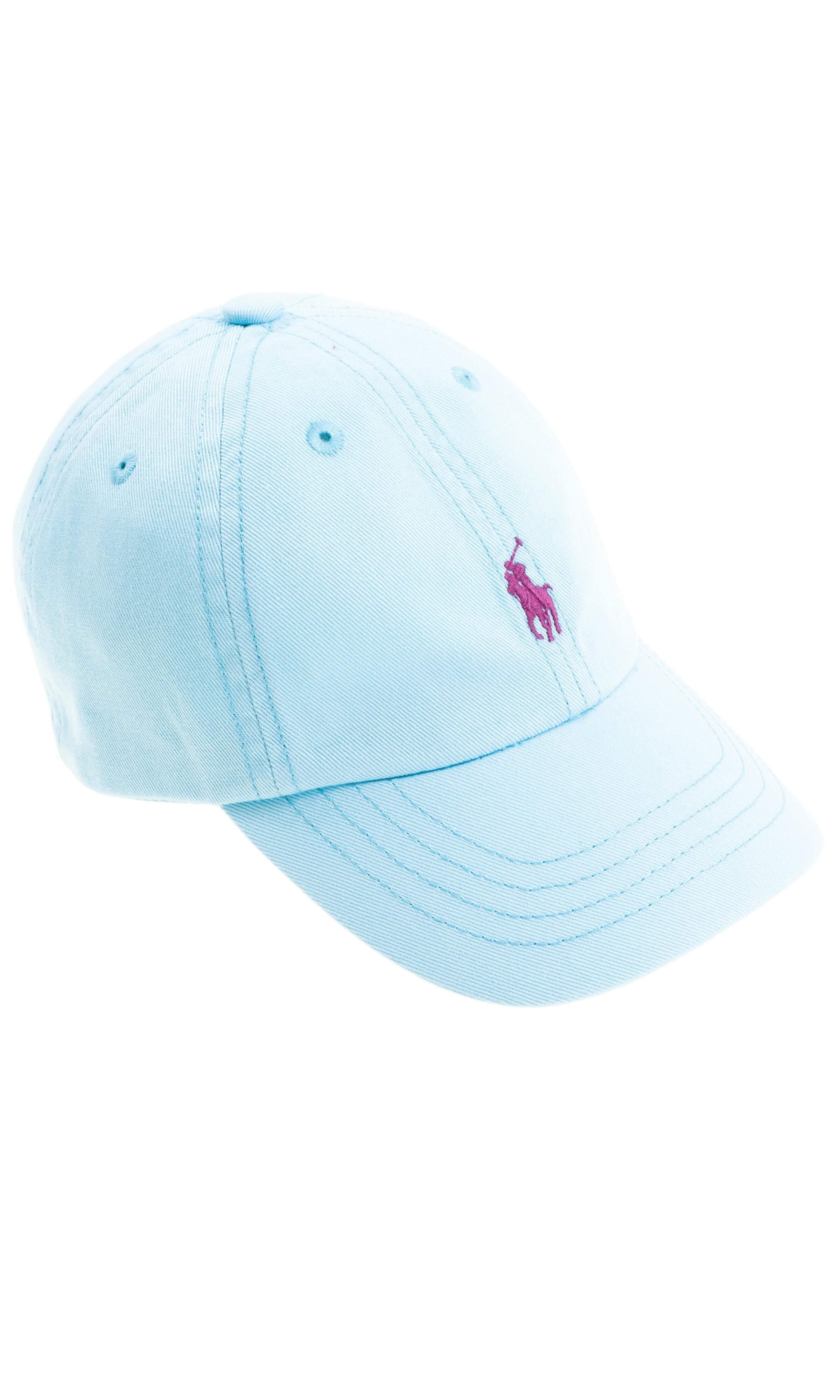 6e437e9ed Niebieska czapka z daszkiem, Polo Ralph Lauren - Celebrity-Club
