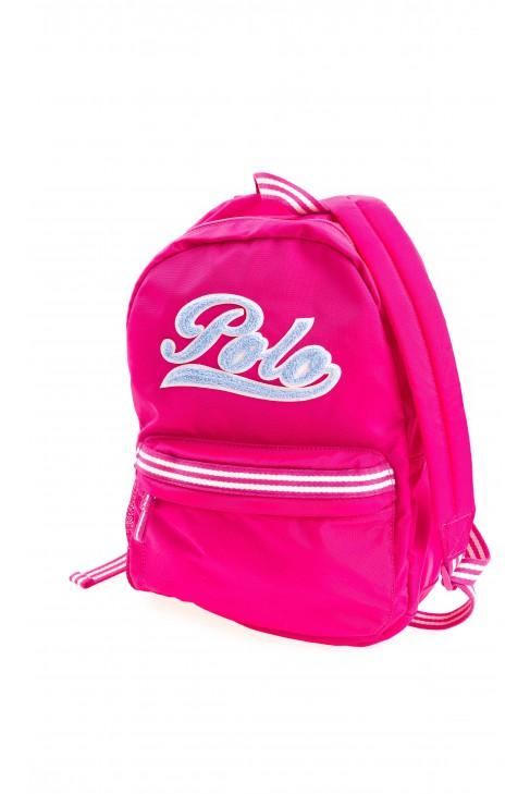 Różowy plecak 1-komorowy, Polo Ralph Lauren