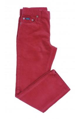 Czerwone spodnie sztruksowe, Polo Ralph Lauren