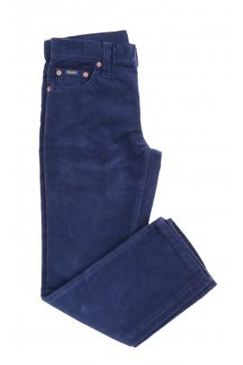Granatowe spodnie sztruksowe, Polo Ralph Lauren