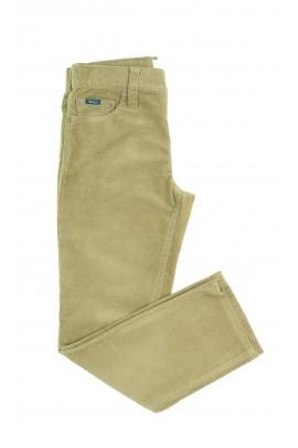 Jasno-brązowe spodnie sztruksowe, Polo Ralph Lauren