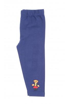 Granatowe legginsy dziewczęce, Ralph Lauren