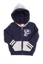 Dwustronny niemowlęcy ciepły sweter z kapturem, Ralph Lauren