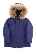 Granatowa kurtka zimowa typu parka, Polo Ralph Lauren