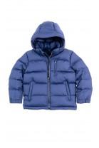 Granatowa kurtka puchowa chłopięca, Polo Ralph Lauren