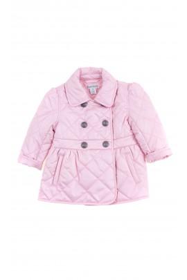 Różowa kurtka niemowlęca z dwurzędowym zapięciem, Ralph Lauren