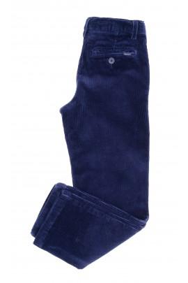 Granatowe spodnie chłopięce ze sztruksu, Polo Ralph Lauren