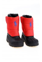 Czerwone śniegowce dziecięce, Polo Ralph Lauren