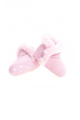 Jasno różowe niemowlęce botki, UGG