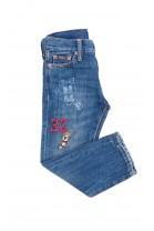 Spodnie dżinsowe z nadrukiem na nogawce, Polo Ralph Lauren