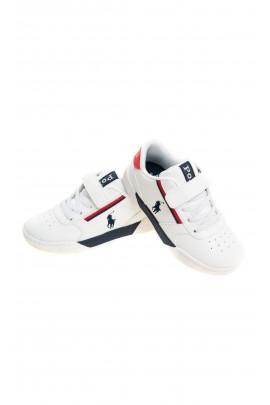 Białe półbuty sportowe, Polo Ralph Lauren