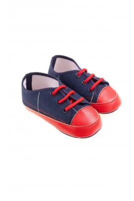 Granatowe buciki niemowlęce, Colorichiari