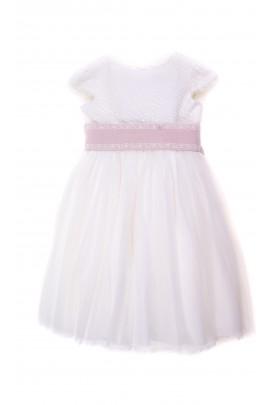 Écru sukienka dla dziewczynki komunijna, Amaya