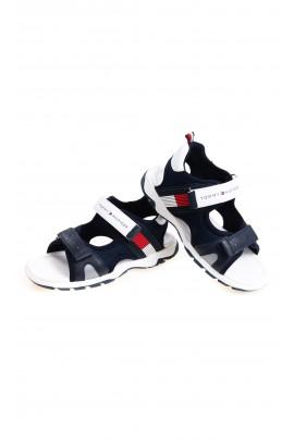 Granatowe sportowe sandały chłopięce, Tommy Hilfiger