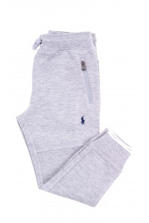 Szare spodnie dresowe dziecięce, Polo Ralph Lauren