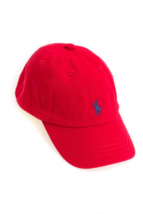 Czerwona czapka z daszkiem, Polo Ralph Lauren