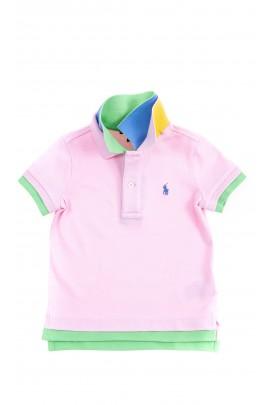 Różowa koszulka polo, Polo Ralph Lauren