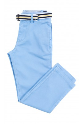 Niebieskie eleganckie spodnie chłopięce, Polo Ralph Lauren
