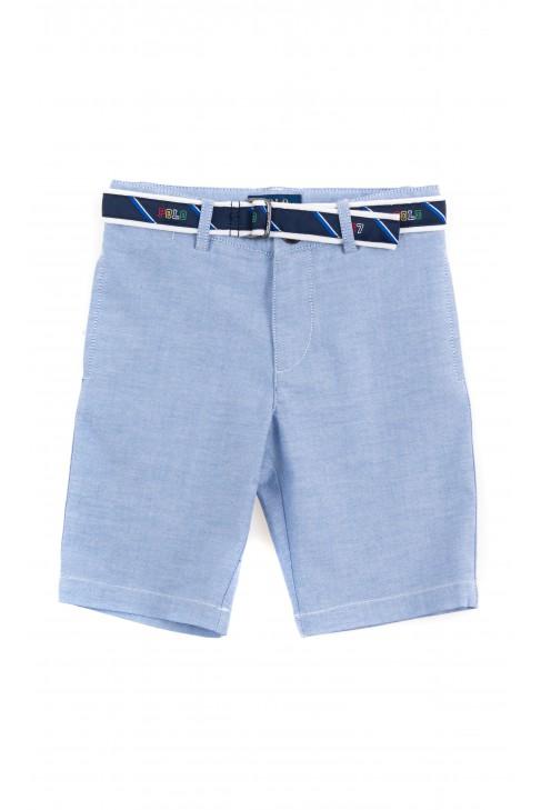 Niebieskie krótkie spodenki chłopięce, Polo Ralph Lauren