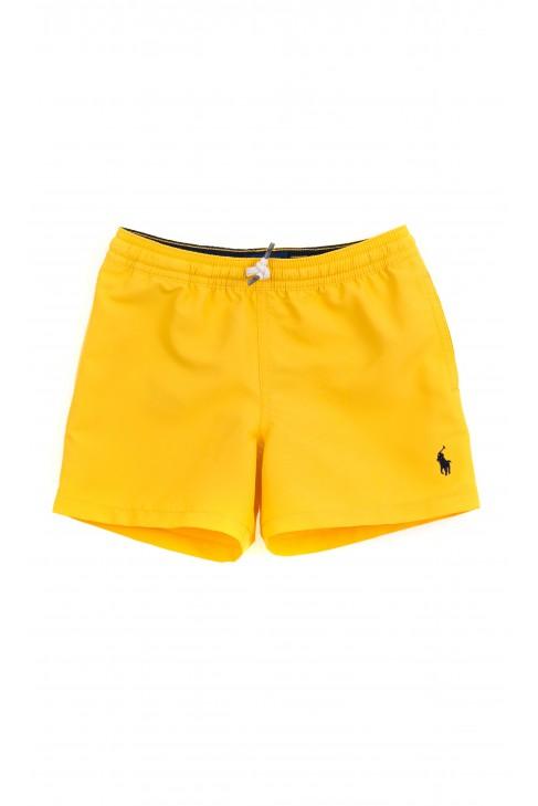 Żółte spodenki kąpielowe chłopięce, Polo Ralph Lauren