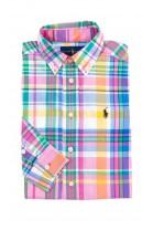 Koszula chłopięca w kolorową kratę, Polo Ralph Lauren