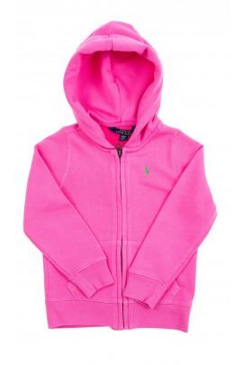 Różowa bluza dresowa z kapturem, Polo Ralph Lauren