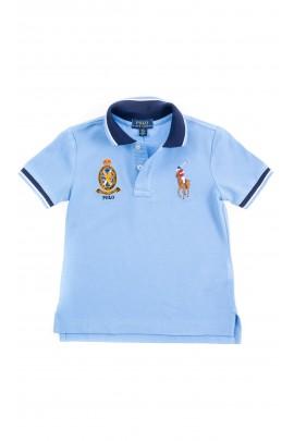 Niebieska koszulka polo dla chłopca, Polo Ralph Lauren