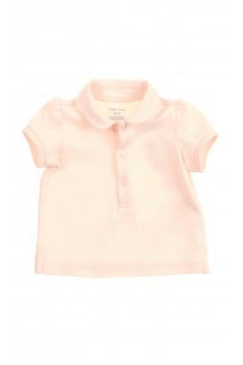 Różowa koszulka polo niemowlęca dla dziewczynki, Ralph Lauren