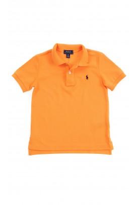 Pomarańczowa koszulka polo chłopięca, Ralph Lauren