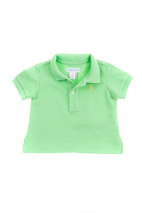 Seledynowa koszulka polo chłopięca, Polo Ralph Lauren