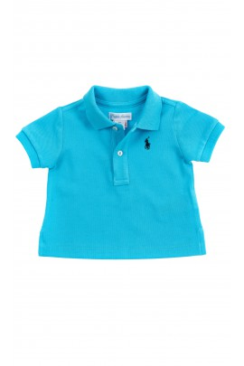 Turkusowa koszulka polo dla chłopca, Polo Ralph Lauren