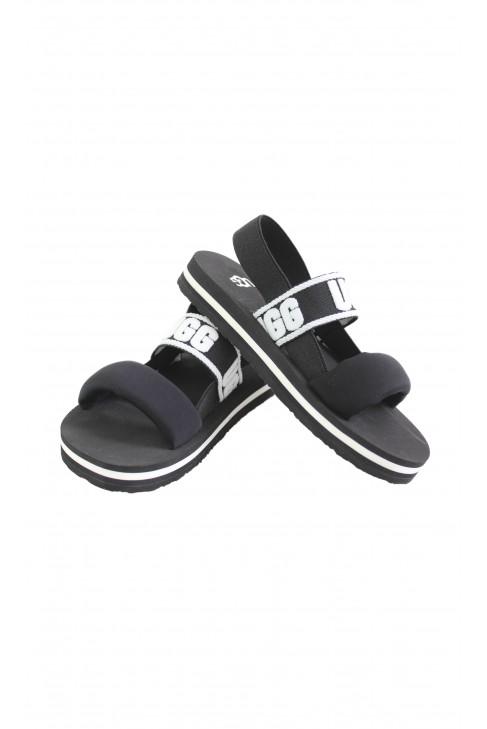 Sandały czarne dziecięce, UGG