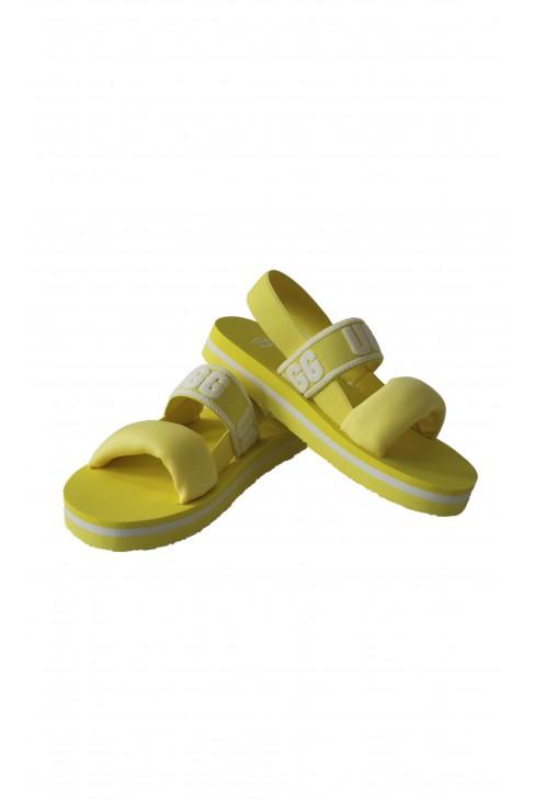 Sandały żółte dziecięce, UGG