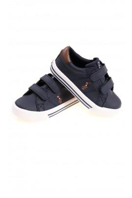 Granatowe sportowe buty chłopięce, Polo Ralph Lauren